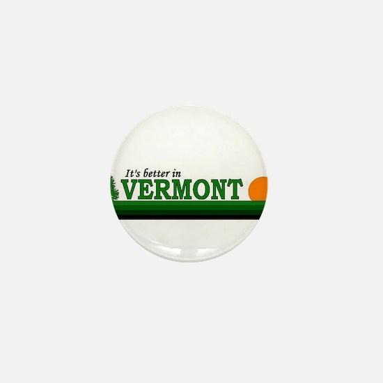 Cute Vermont Mini Button