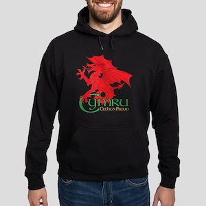 Cymru Draig Hoodie (dark)