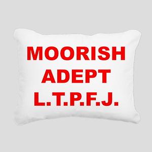 Moorish Adept Rectangular Canvas Pillow