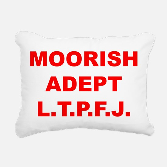 Moorish Adept Rectangular Canvas Pillow