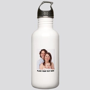 Photo Text Personalize Stainless Water Bottle 1.0L