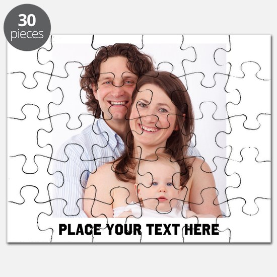 Photo Text Personalized Puzzle