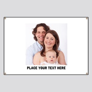 Photo Text Personalized Banner