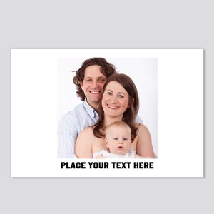 Photo Text Personalized Postcards (Package of 8)
