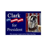 Clark G for President Rectangle Magnet (100 pack)