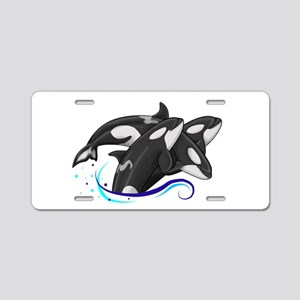 Orca Triple Jump Aluminum License Plate