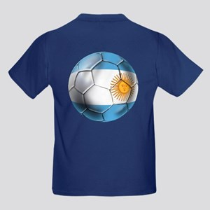 Argentina Football Kids Dark T-Shirt