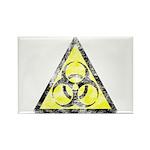 Vintage Bio-Hazard 3 Rectangle Magnet (100 pack)