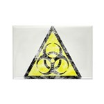 Vintage Bio-Hazard 3 Rectangle Magnet (10 pack)