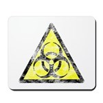 Vintage Bio-Hazard 3 Mousepad
