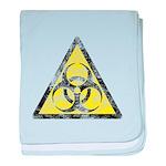 Vintage Bio-Hazard 3 baby blanket