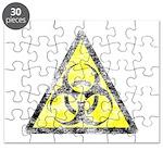 Vintage Bio-Hazard 3 Puzzle