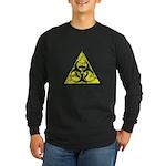 Vintage Bio-Hazard 3 Long Sleeve Dark T-Shirt