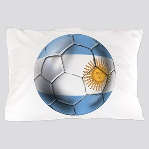 Argentina Football Pillow Case
