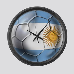 Argentina Football Large Wall Clock