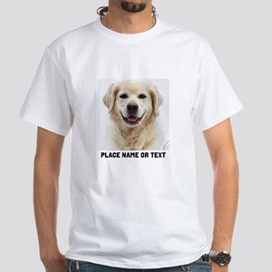 Dog Photo Customized White T-Shirt