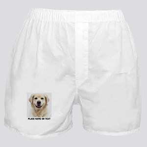 Dog Photo Customized Boxer Shorts