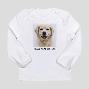 Dog Photo Customized Long Sleeve Infant T-Shirt