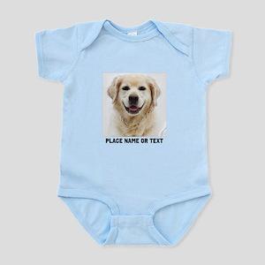 Dog Photo Customized Infant Bodysuit