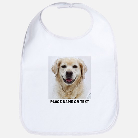 Dog Photo Customized Cotton Baby Bib