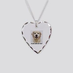 Dog Photo Customized Necklace Heart Charm