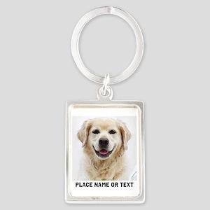 Dog Photo Customized Portrait Keychain