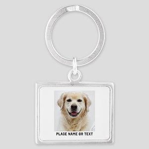 Dog Photo Customized Landscape Keychain