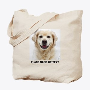 Dog Photo Customized Tote Bag