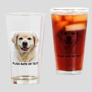 Dog Photo Customized Drinking Glass