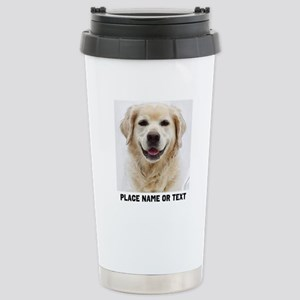Dog Photo Customi 16 oz Stainless Steel Travel Mug