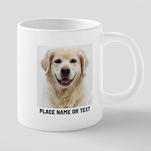 Dog Photo Customized 20 oz Ceramic Mega Mug