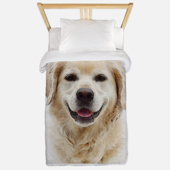 Dog Photo Customized Twin Duvet Cover