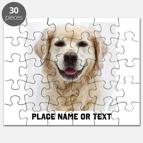 Dog Photo Customized Puzzle