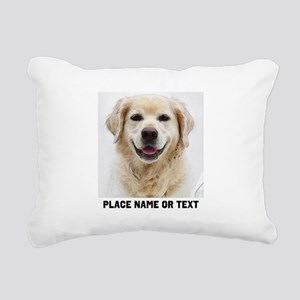 Dog Photo Customized Rectangular Canvas Pillow