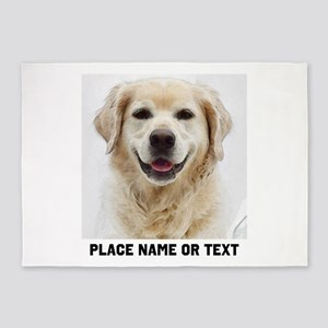 Dog Photo Customized 5'x7'Area Rug