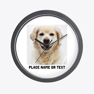 Dog Photo Customized Wall Clock