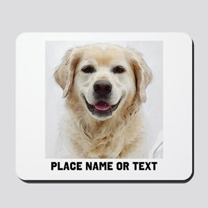 Dog Photo Customized Mousepad