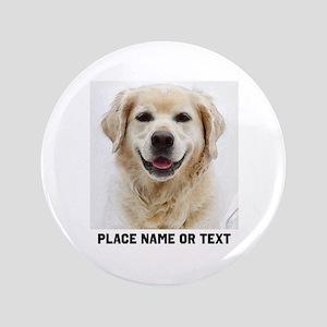 Dog Photo Customized Button