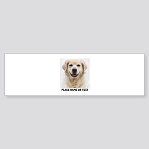 Dog Photo Customized Sticker (Bumper)