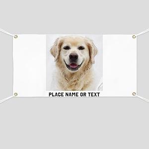 Dog Photo Customized Banner