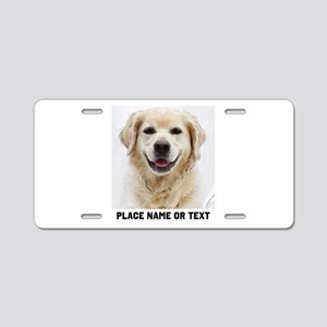 Dog Photo Customized Aluminum License Plate
