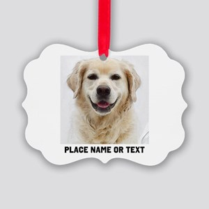 Dog Photo Customized Picture Ornament