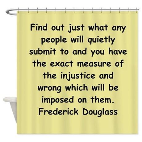 frederick douglass gifts and Shower Curtain