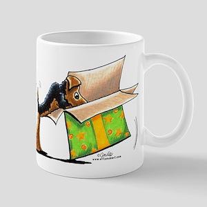 Surprise Me Airedale Mug