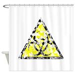 Vintage Bio-Hazard 4 Shower Curtain