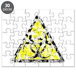 Vintage Bio-Hazard 4 Puzzle
