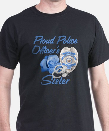Cute Sister police cop T-Shirt