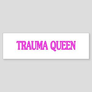 Trauma Queen Sticker (Bumper)