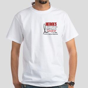 Heroes All Sizes Juv Diabetes White T-Shirt