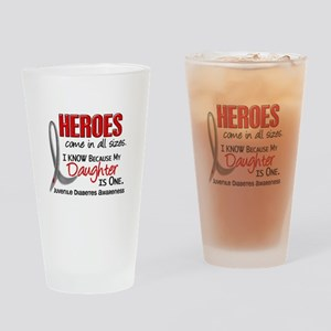 Heroes All Sizes Juv Diabetes Drinking Glass